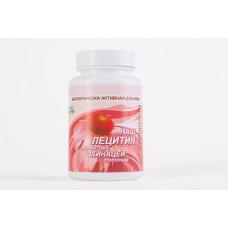 Подсолнечный лецитин с эхинацеей - 60 капсул (Наш лецитин)